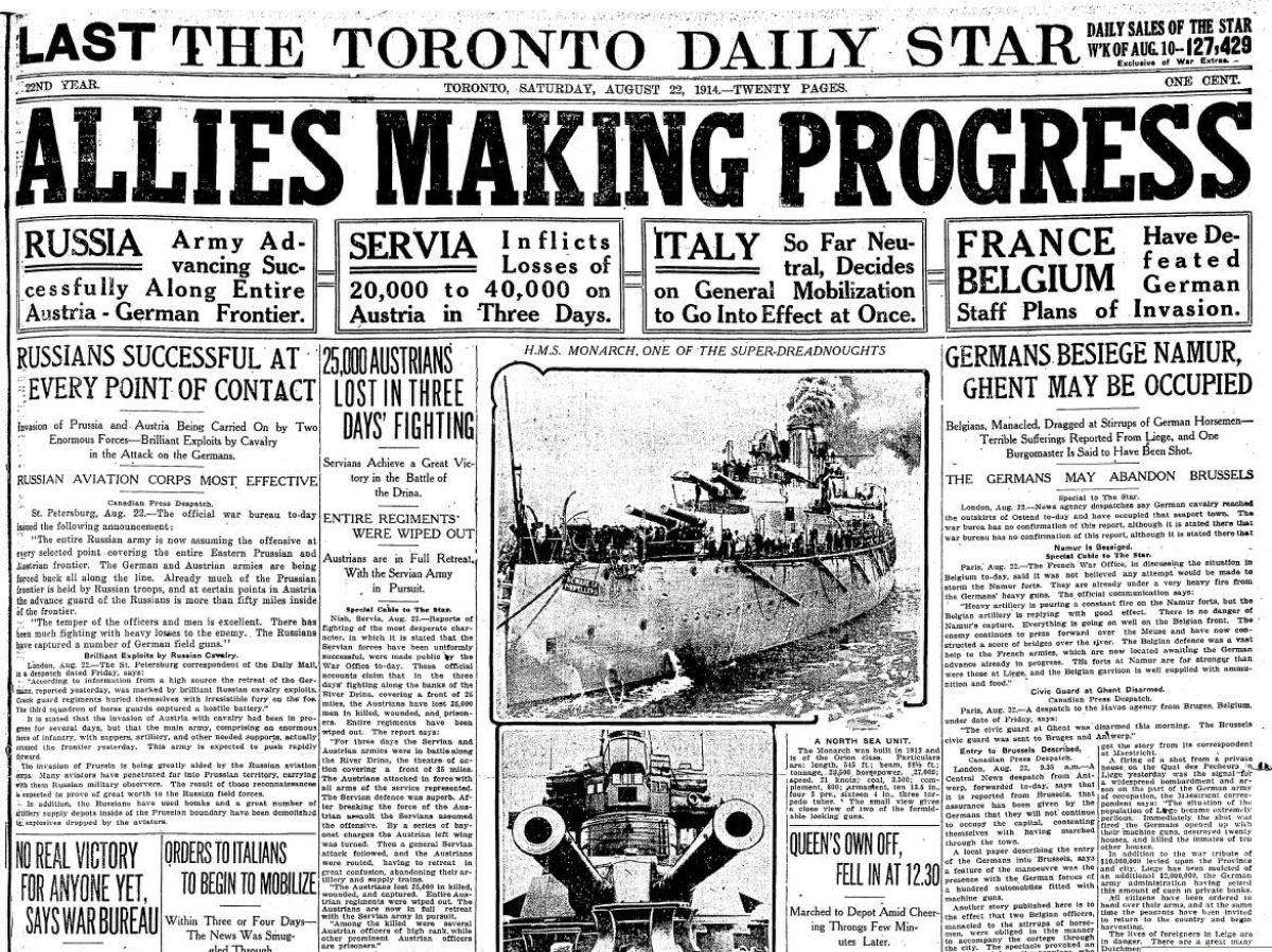 Newspaper_Allies-make-Progess---8.22.1914